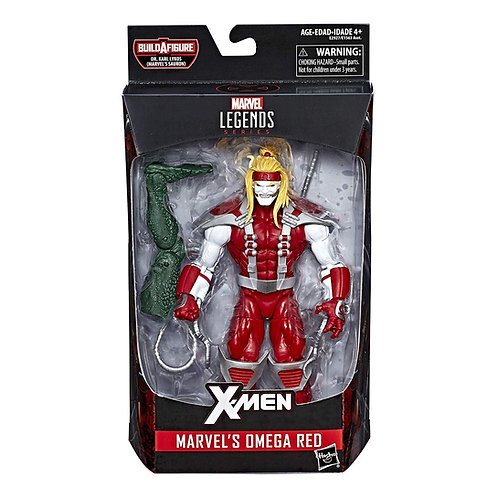 MARVEL LEGENDS DEADPOOL SERIES SAURON OMEGA RED