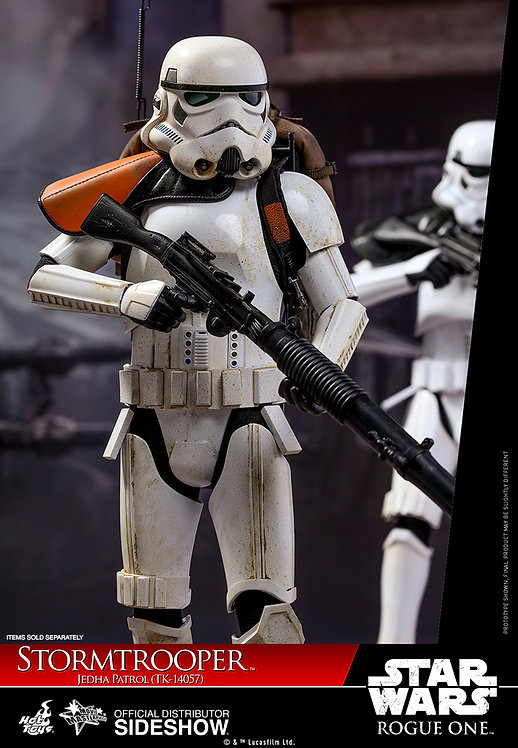 HOT TOYS STAR WARS ROGUE ONE STORMTROOPER JEDHA PATROL TK-14057
