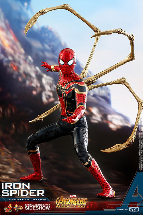 HOT TOYS AVENGERS INFINITY WAR IRON SPIDER