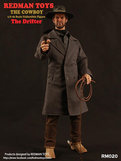 REDMAN TOYS THE COWBOY THE DRIFTER - THE GOOD, THE BAD AND THE UGLY THE DRIFTER