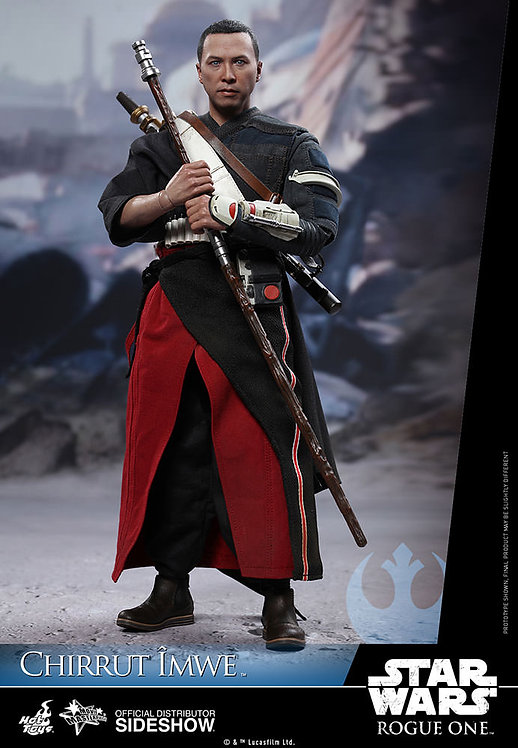 HOT TOYS STAR WARS ROGUE ONE CHIRRUT IMWE DELUXE