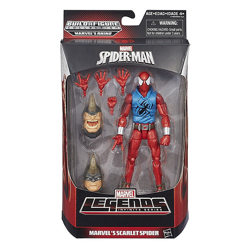 MARVEL LEGENDS RHINO SERIES SCARLET SPIDER
