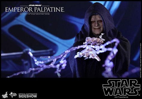 HOT TOYS STAR WARS RETURN OF THE JEDI EMPEROR PALPATINE