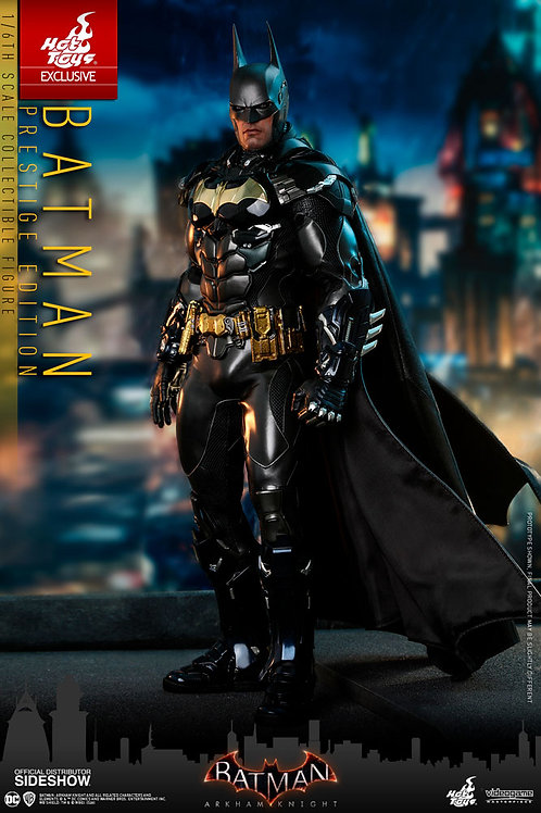 HOT TOYS DC ARKHAM KNIGHT VIDEO GAME BATMAN PRESTIGE EDITION