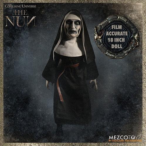 """MEZCO TOYZ 18"""" MEGA SCALE THE NUN DOLL ROTO PLUSH"""