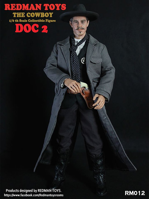REDMAN TOYS DOC 2 - TOMBSTONE DOC HOLLIDAY