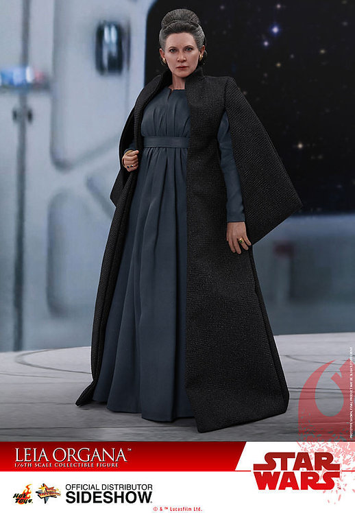 HOT TOYS STAR WARS THE LAST JEDI LEIA ORGANA