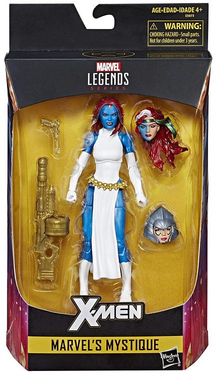 MARVEL LEGENDS SERIES MYSTIQUE WALGREENS EXCLUSIVE