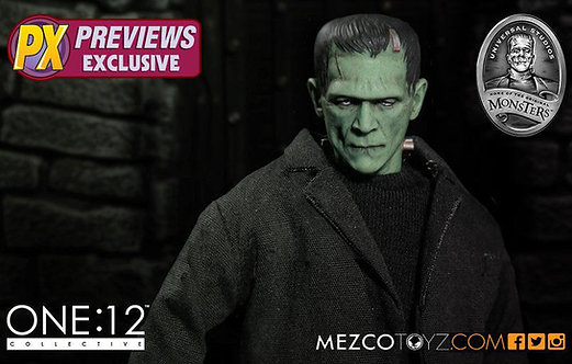 MEZCO TOYZ ONE:12 PX EXCLUSIVE FRANKENSTEIN
