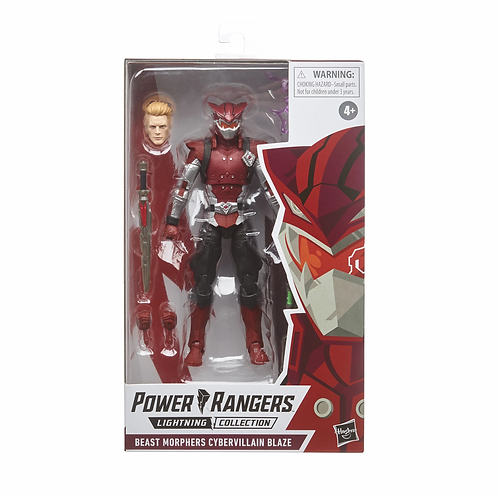 POWER RANGERS LIGHTNING COLLECTION BEAST MORPHERS CYBERVILLAIN BLAZE