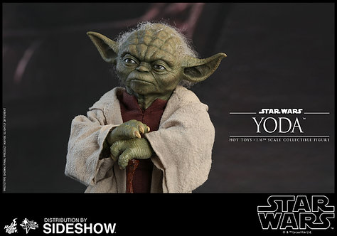 HOT TOYS STAR WARS ATTACK OF THE CLONES YODA