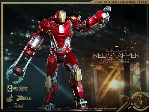 HOT TOYS IRON MAN 3 MARK 35 RED SNAPPER