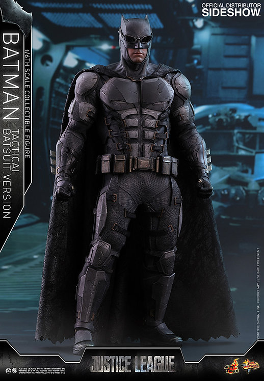 HOT TOYS JUSTICE LEAGUE BATMAN TACTICAL BATSUIT VERSION