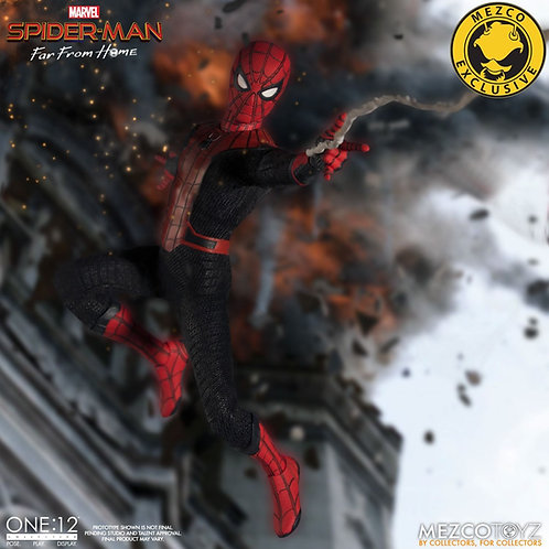 MEZCO TOYZ ONE:12 SPIDER-MAN FAR FROM HOME DELUXE EDITION SUMMER EXCLUSIVE