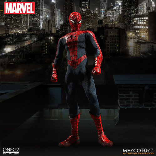 MEZCO TOYZ ONE:12 MARVEL CLASSIC SPIDER-MAN