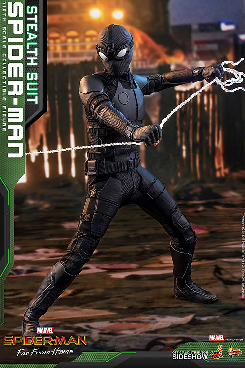 HOT TOYS SPIDER-MAN FAR FROM HOME SPIDER-MAN STEALTH SUIT