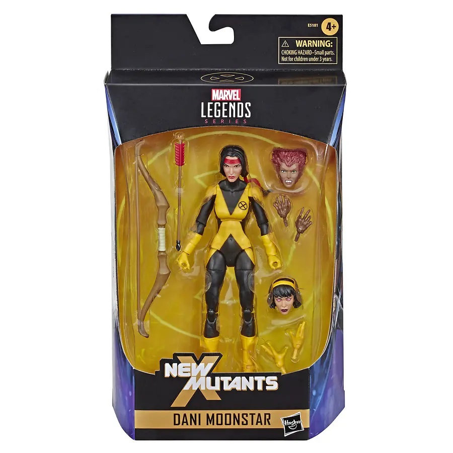 Marvel Legends Dani Moonstar loose Walgreens Karma Aconitum têtes en main!