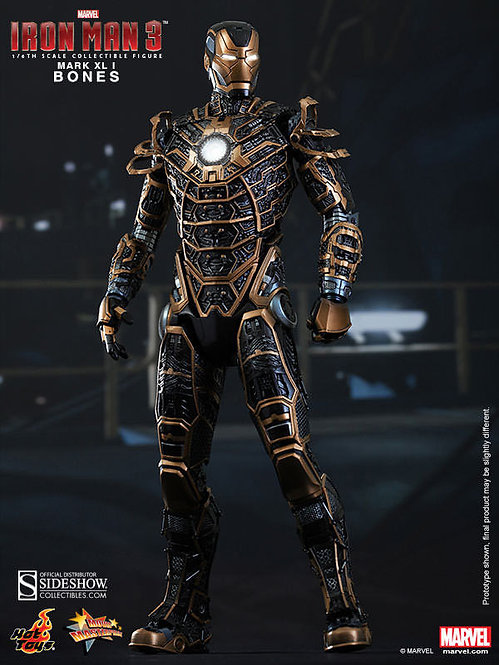 HOT TOYS IRON MAN 3 MARK 41 BONES