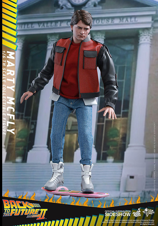 HOT TOYS BACK TO THE FUTURE II MARTY MCFLY
