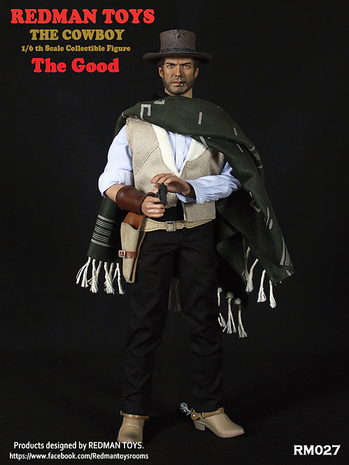 "REDMAN TOYS THE COWBOY THE GOOD - THE GOOD, THE BAD AND THE UGLY ""THE GOOD"""