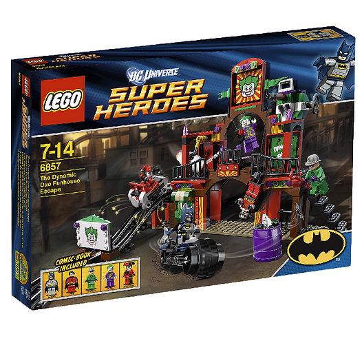 LEGO 6857 DC UNIVERSE SUPER HEROES THE DYNAMIC DUO FUNHOUSE ESCAPE