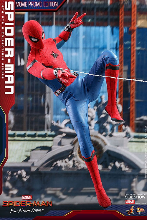 HOT TOYS SPIDER-MAN FAR FROM HOME MOVIE PROMO EDITION