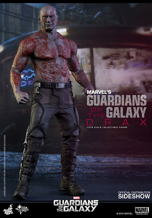 HOT TOYS MARVEL'S GUARDIANS OF THE GALAXY MOVIE DRAX