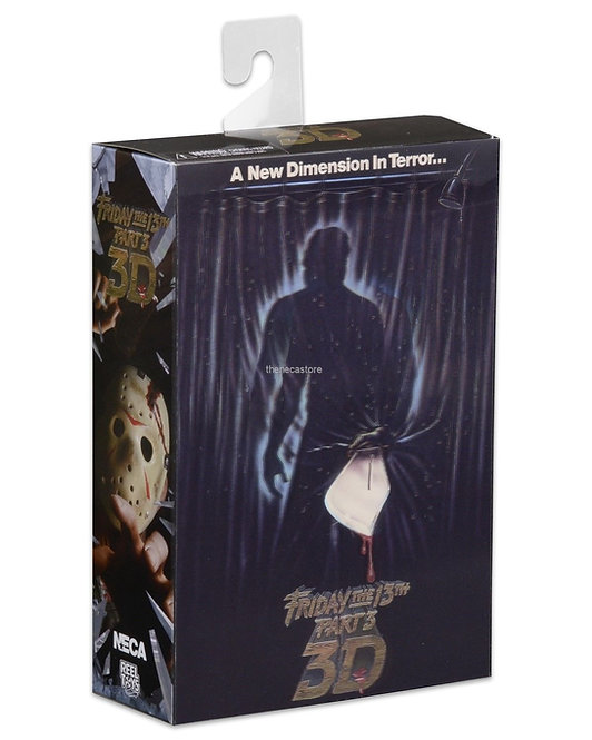 NECA FRIDAY THE 13TH PART 3 3-D ULTIMATE JASON VOORHEES