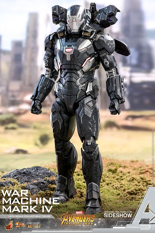 HOT TOYS AVENGERS INFINITY WAR WAR MACHINE MARK IV DIECAST