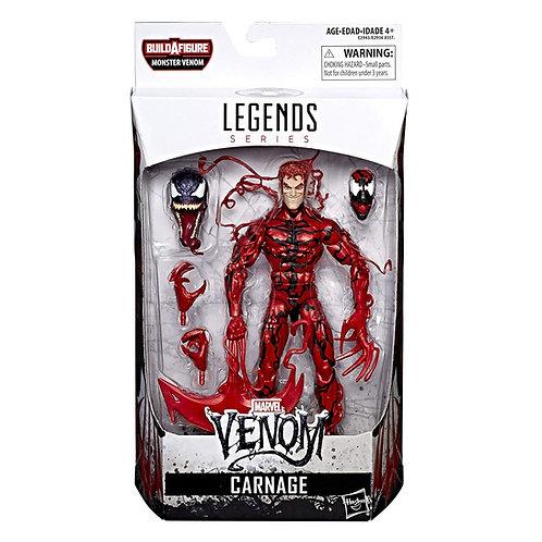 MARVEL LEGENDS SPIDER-MAN SERIES MONSTER VENOM CARNAGE