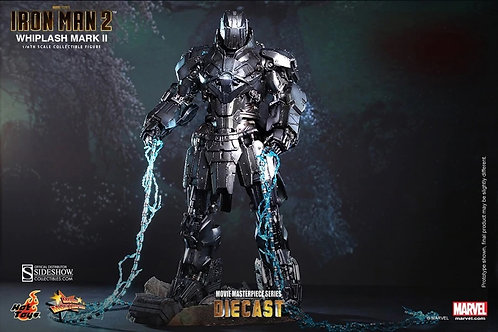 HOT TOYS IRON MAN 2 WHIPLASH MARK II DIECAST