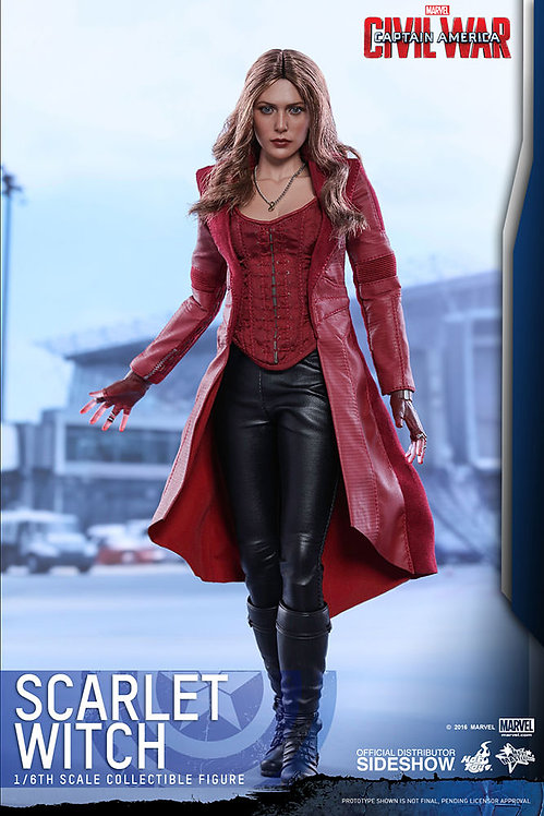 HOT TOYS CAPTAIN AMERICA CIVIL WAR SCARLET WITCH