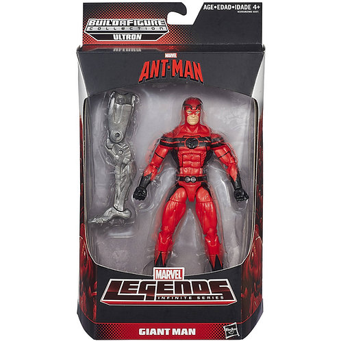 MARVEL LEGENDS ANTMAN MOVIE ULTRON SERIES GIANT MAN