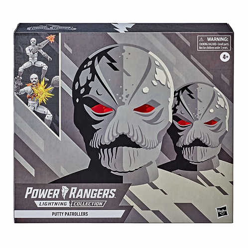 POWER RANGERS LIGHTNING COLLECTION MIGHTY MORPHIN PUTTY PATROLLERS 2 PACK