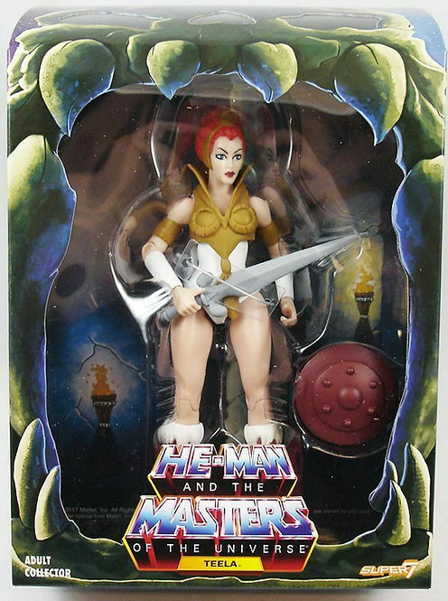 SUPER 7 MASTERS OF THE UNIVERSE FILMATION TEELA