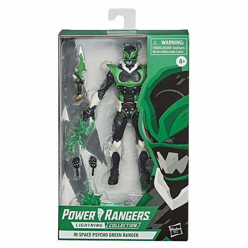 POWER RANGERS LIGHTNING COLLECTION IN SPACE PSYCHO GREEN RANGER