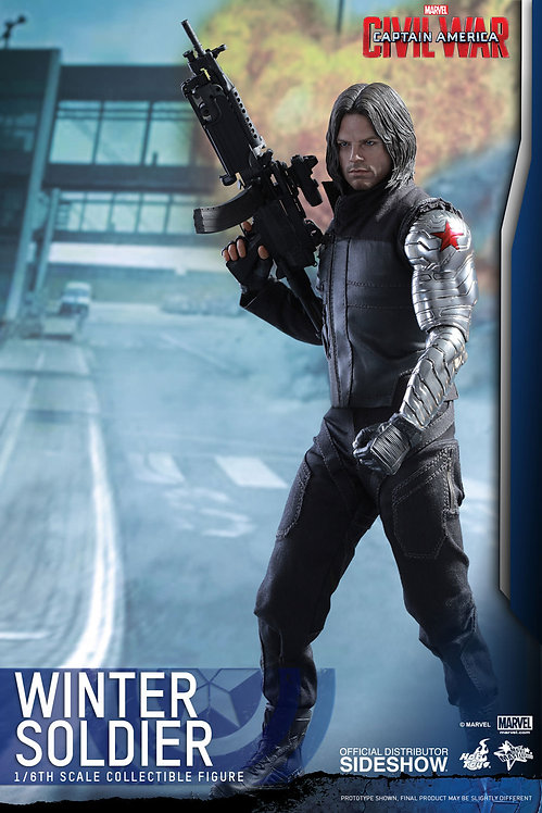 HOT TOYS CAPTAIN AMERICA CIVIL WAR WINTER SOLDIER