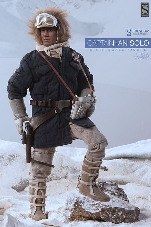 SIDESHOW COLLECTIBLES STAR WARS CAPTAIN HAN SOLO HOTH BLUE JACKET EXCLUSIVE
