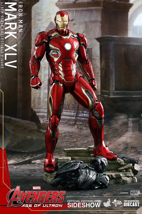 HOT TOYS AVENGERS 2 AGE OF ULTRON IRON MAN MARK 45 DIECAST
