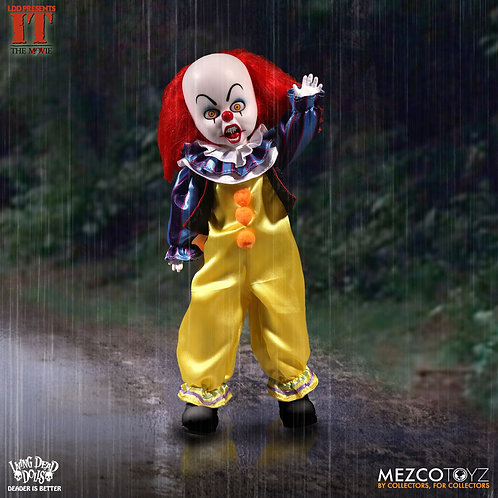 MEZCO TOYZ LIVING DEAD DOLLS STEPHEN KING'S IT PENNWISE