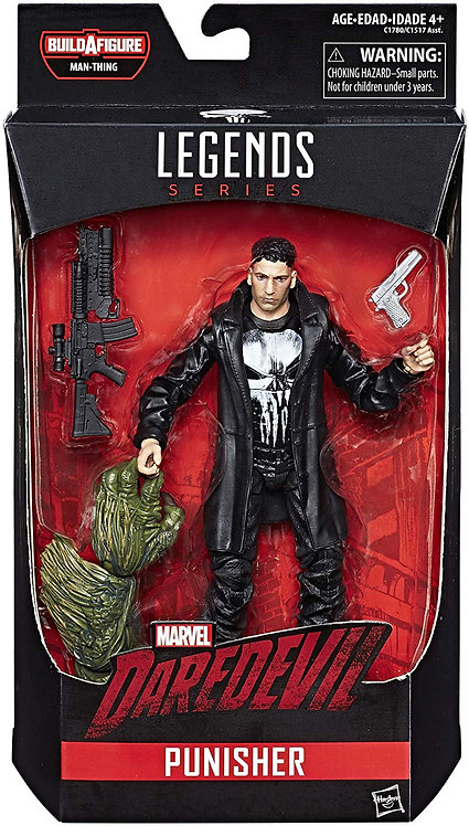 MARVEL LEGENDS KNIGHTS SERIES MAN-THING NETFLIX PUNISHER