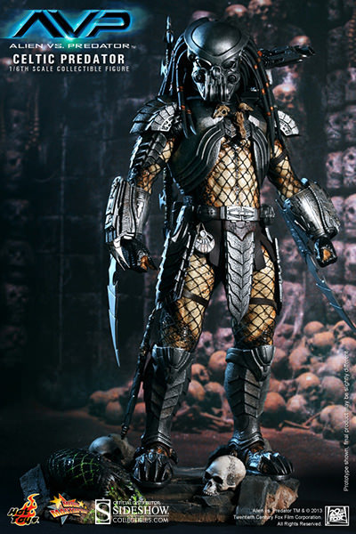 HOT TOYS PREDATOR AVP CELTIC PREDATOR 2.0