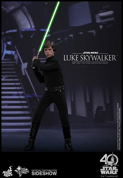 HOT TOYS STAR WARS RETURN OF THE JEDI LUKE SKYWALKER