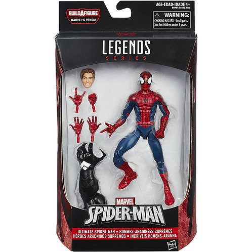 MARVEL LEGENDS SPACE VENOM SERIES PETER PARKER SPIDER-MAN