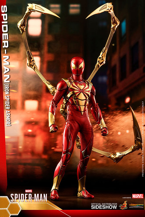 HOT TOYS SPIDER-MAN IRON SPIDER ARMOR