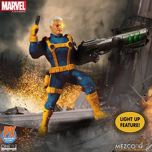 MEZCO TOYZ ONE:12 MARVEL CABLE PX EXCLUSIVE