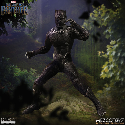 MEZCO TOYZ ONE:12 MARVEL BLACK PANTHER