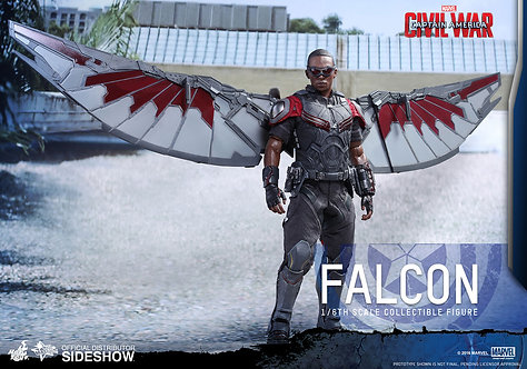 HOT TOYS CAPTAIN AMERICA CIVIL WAR FALCON