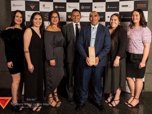 Te Taura Whiri i Te Reo Māori Ngā Tohu Reo Awards 2017 Winners