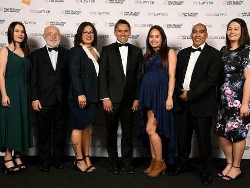 New Zealand Law Awards 2017